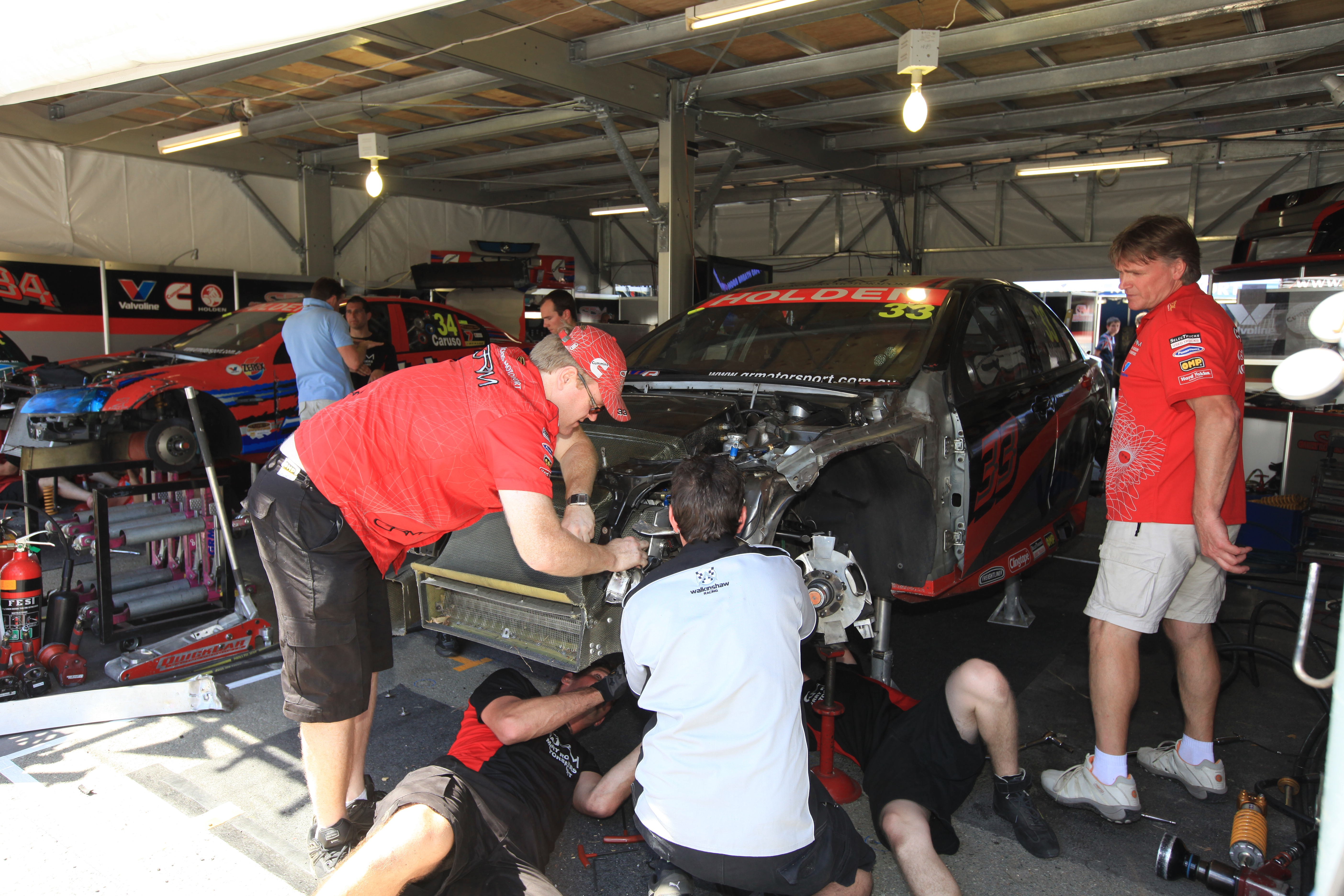 GRM in a race to fix its Commodores