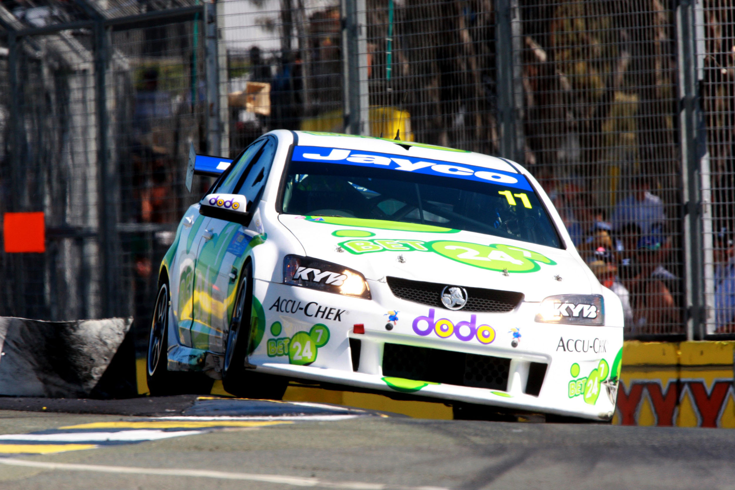 Perkins swaps chassis for The Island 300