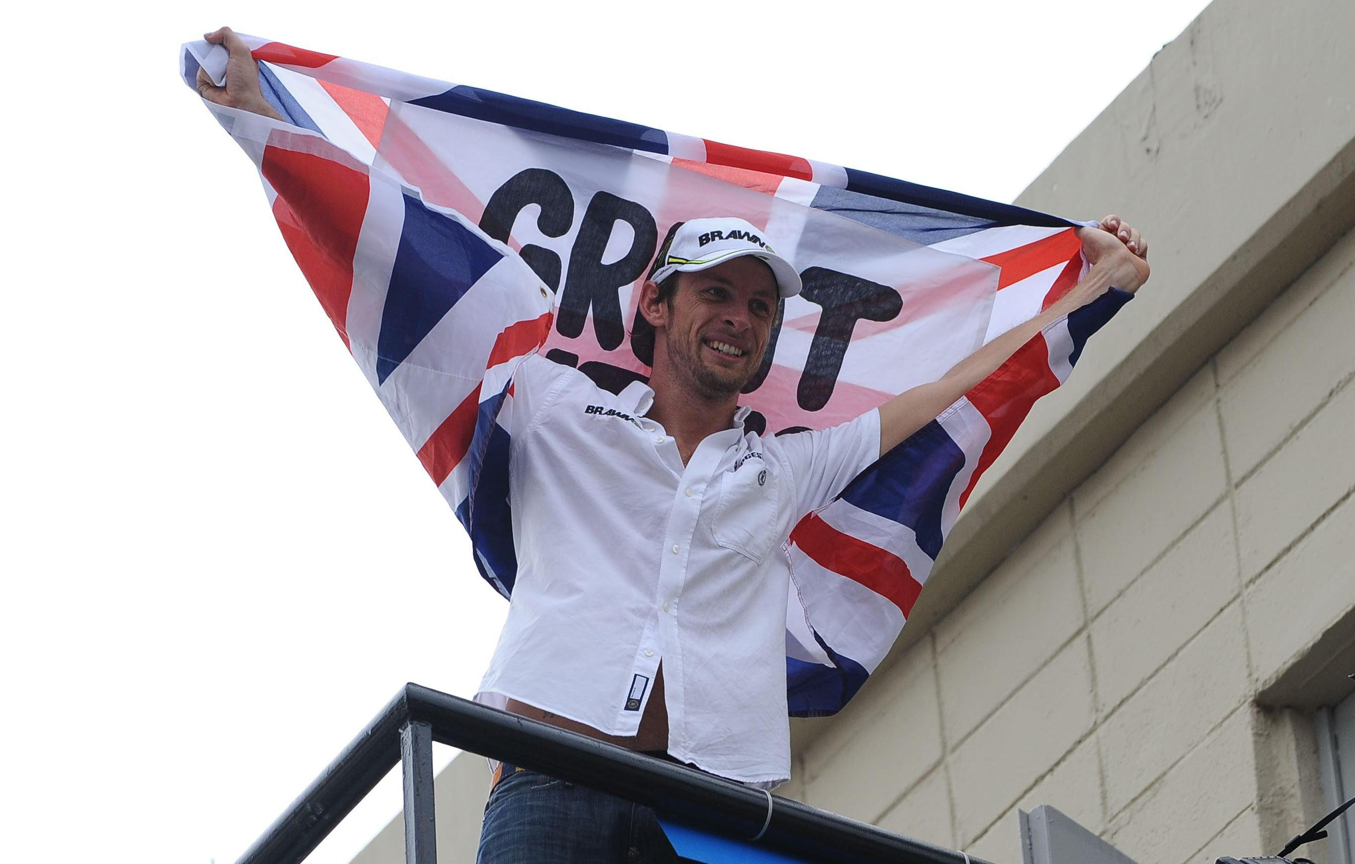 Button: I am the Champion