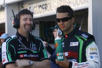 Paul Cruickshank and Fabian Coulthard