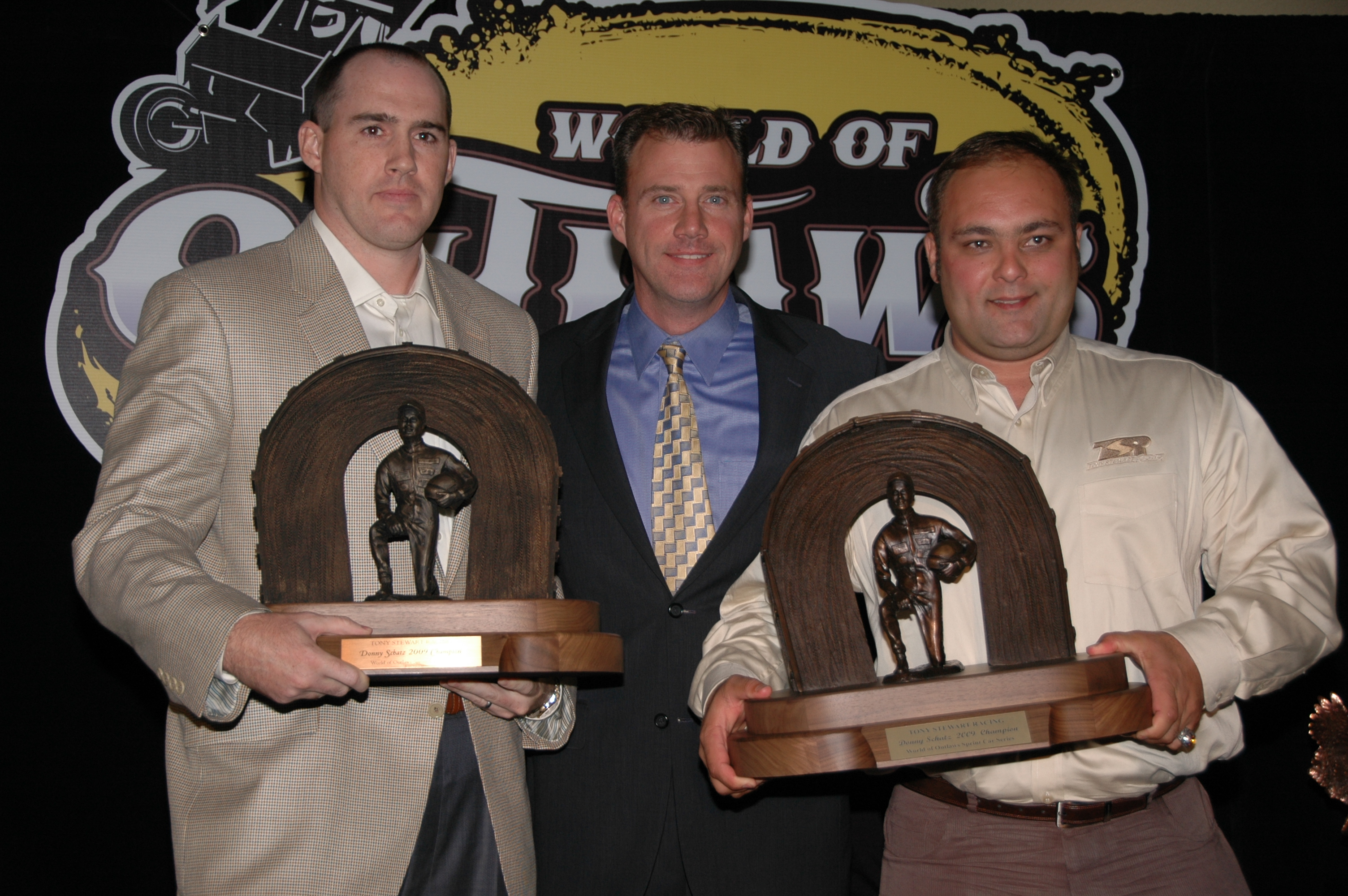 Schatz cleans up at WoO Banquet