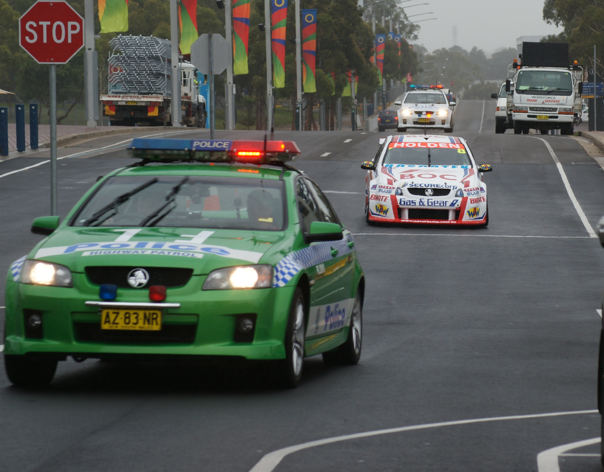 Team BOC gets early Homebush hot laps