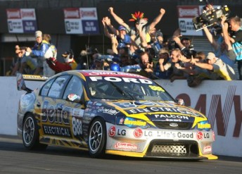 Roland Dane considers his team's 2006 Bathurst 1000 victory as its highlight as a Ford team. Next year, the successful Queensland team switches to Holden power