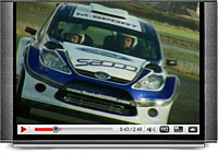 Check out the all-new Ford Fiesta Super2000 in action on tarmac.