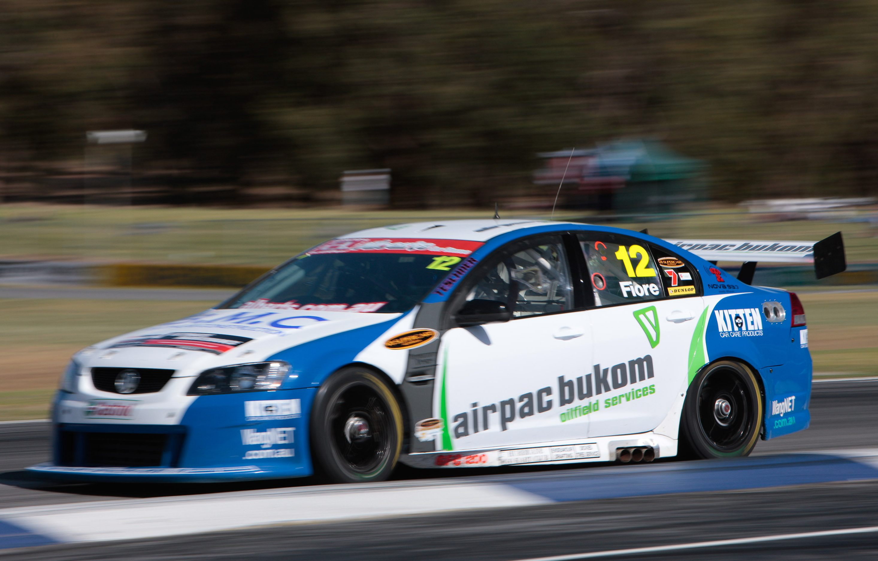 Fiore brothers to fight for Fujitsu V8 entry