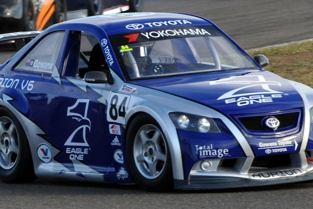 Gowans crowned Aussie Racing Car Champion