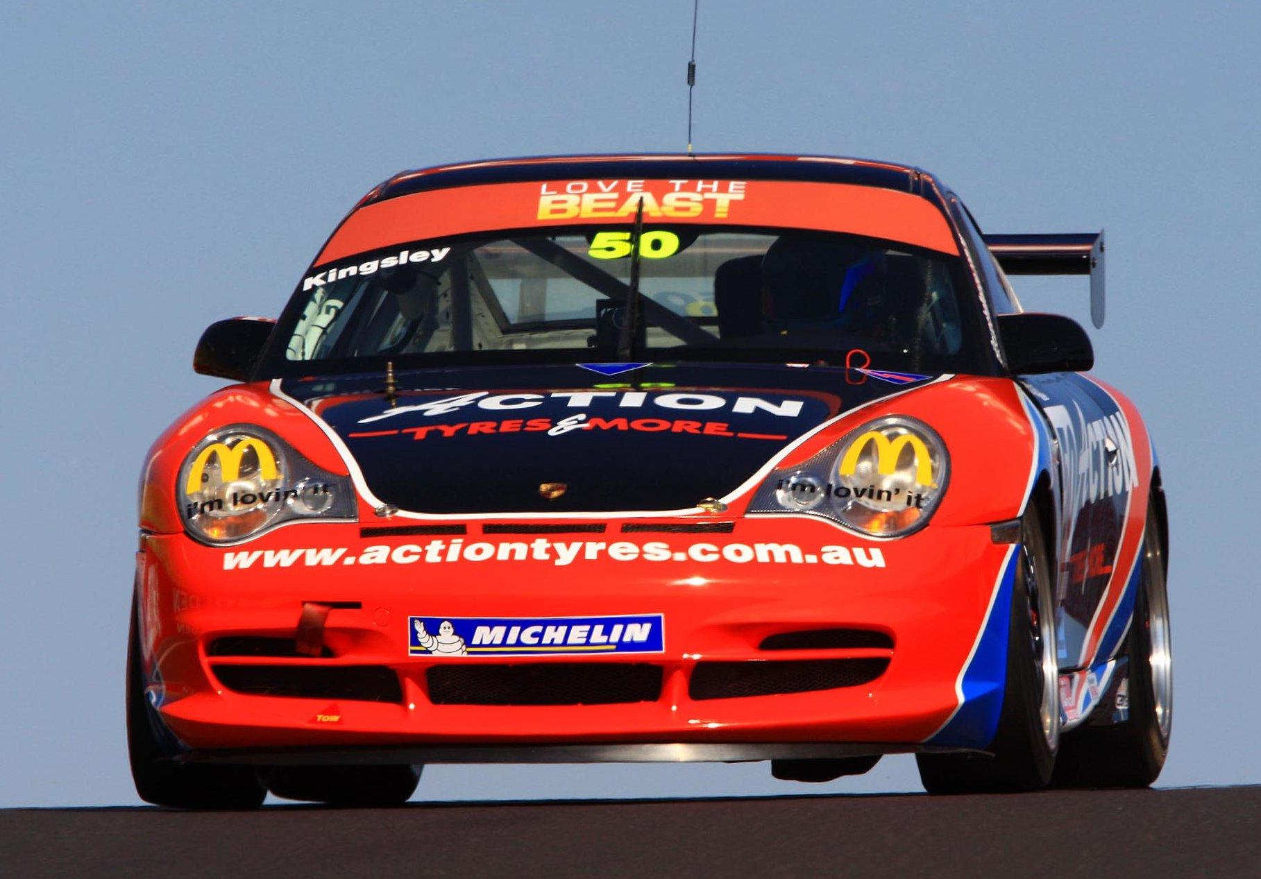 Rebuilt Porsche for Kingsley's final GT3 attack