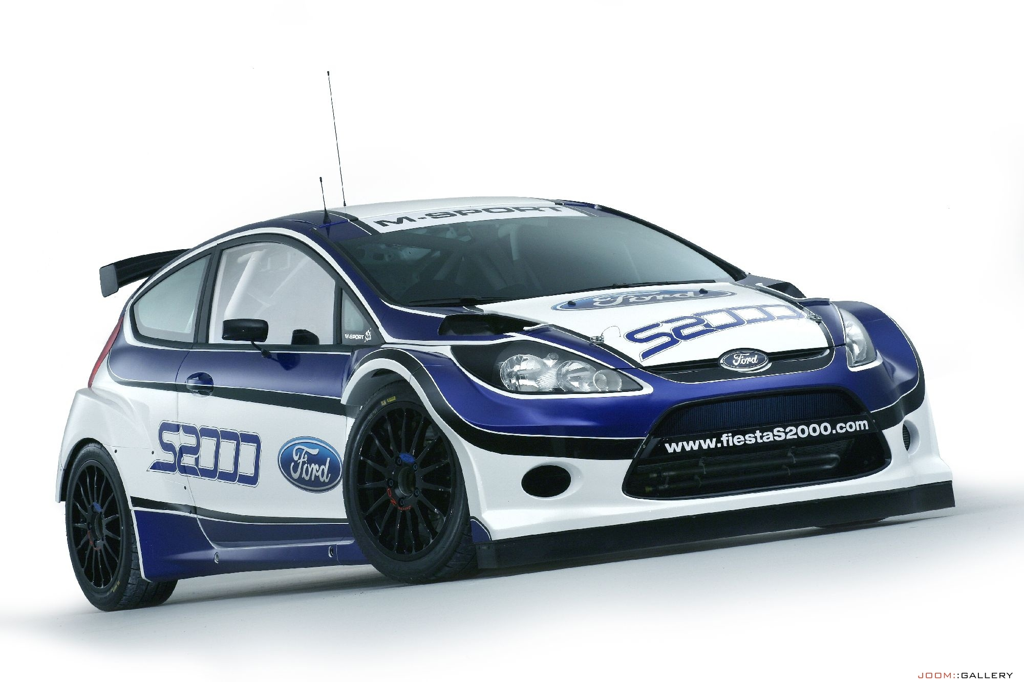 All new Ford Fiesta S2000 rally car unveiled