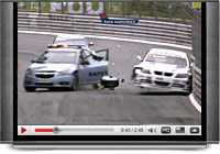 Safety Car stuff up at the World Touring Car Championship