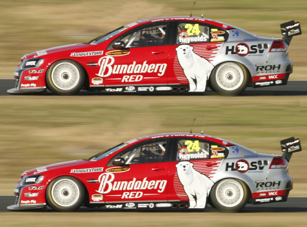 Thompson at Walkinshaw in Bundy double