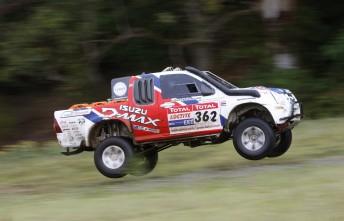 Bruce Garland will start the Dakar from position #20