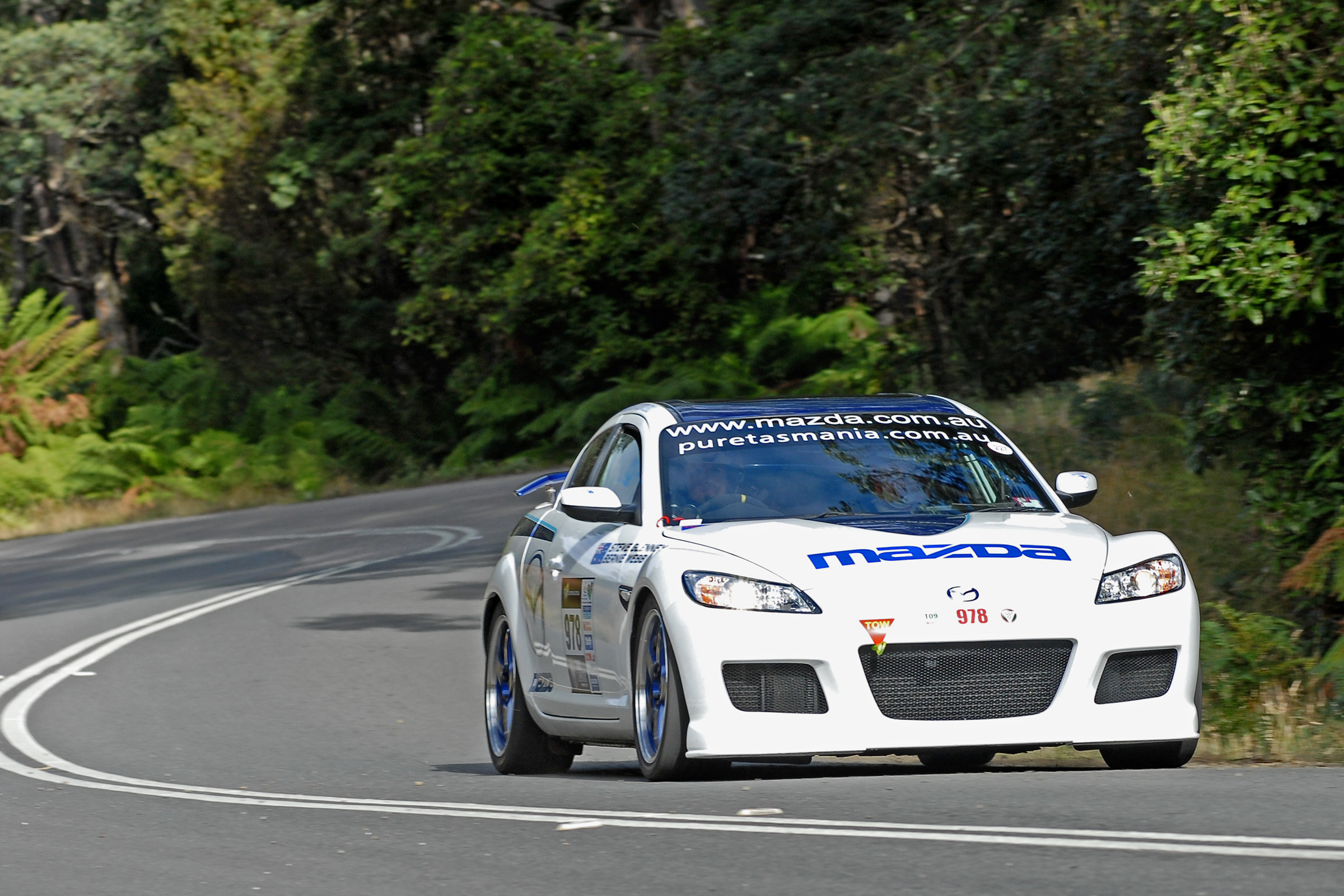 Mazda RX-8 SP set for Targa 2010
