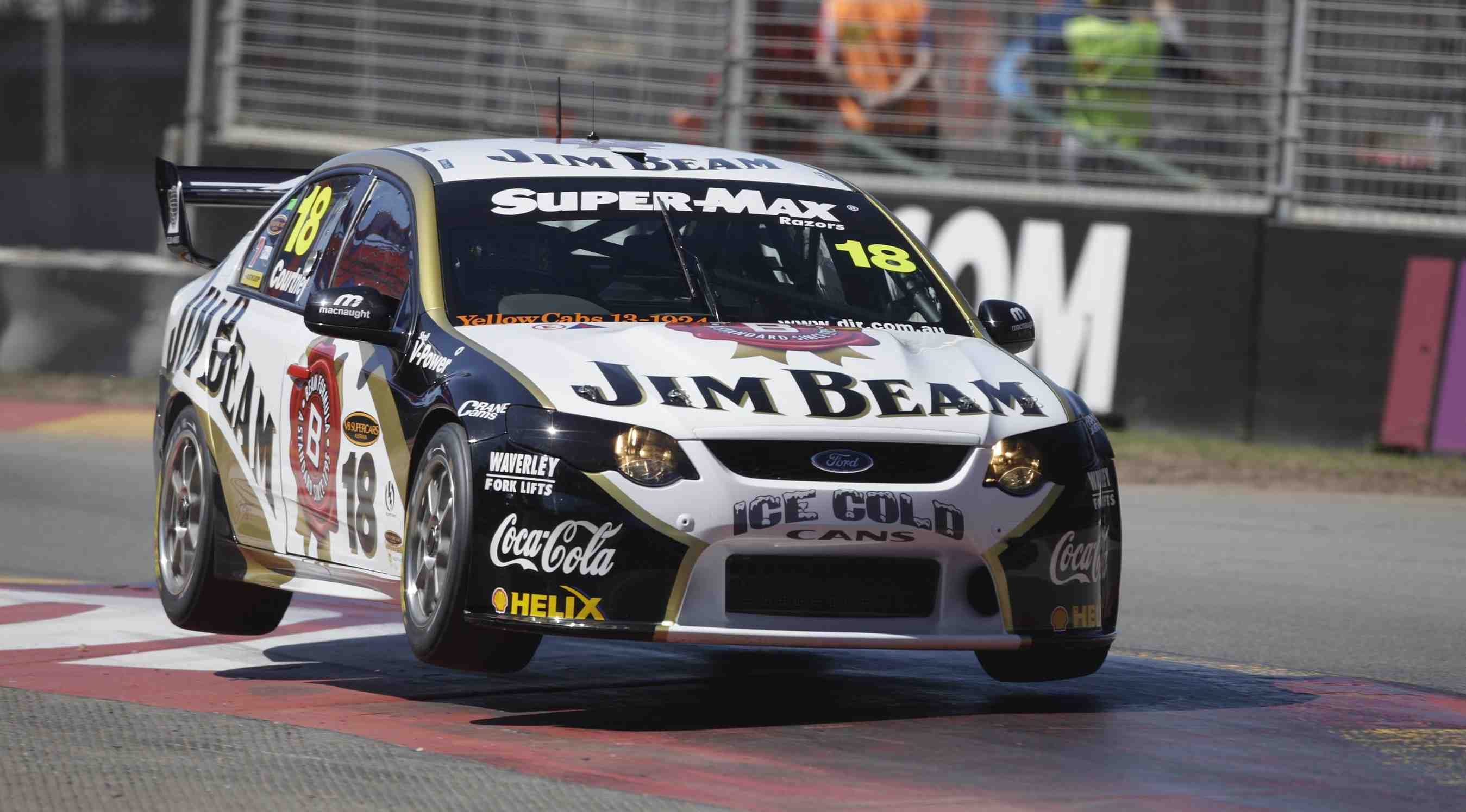 Courtney: Clipsal crash cost me title tilt
