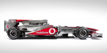 McLaren's new MP4-25 chassis was unveiled last night