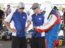 Richards uses karting event to prepare for 2010