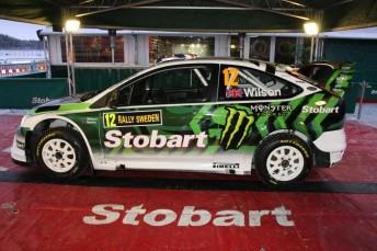 Matthew Wilson's Stobart M-Sport Ford