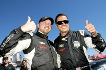 Henri Zogaib, right, has been arrested on serious fraud charges that relate to a Ponzi scheme which caught out former team-mate Ryan Dalziel, left
