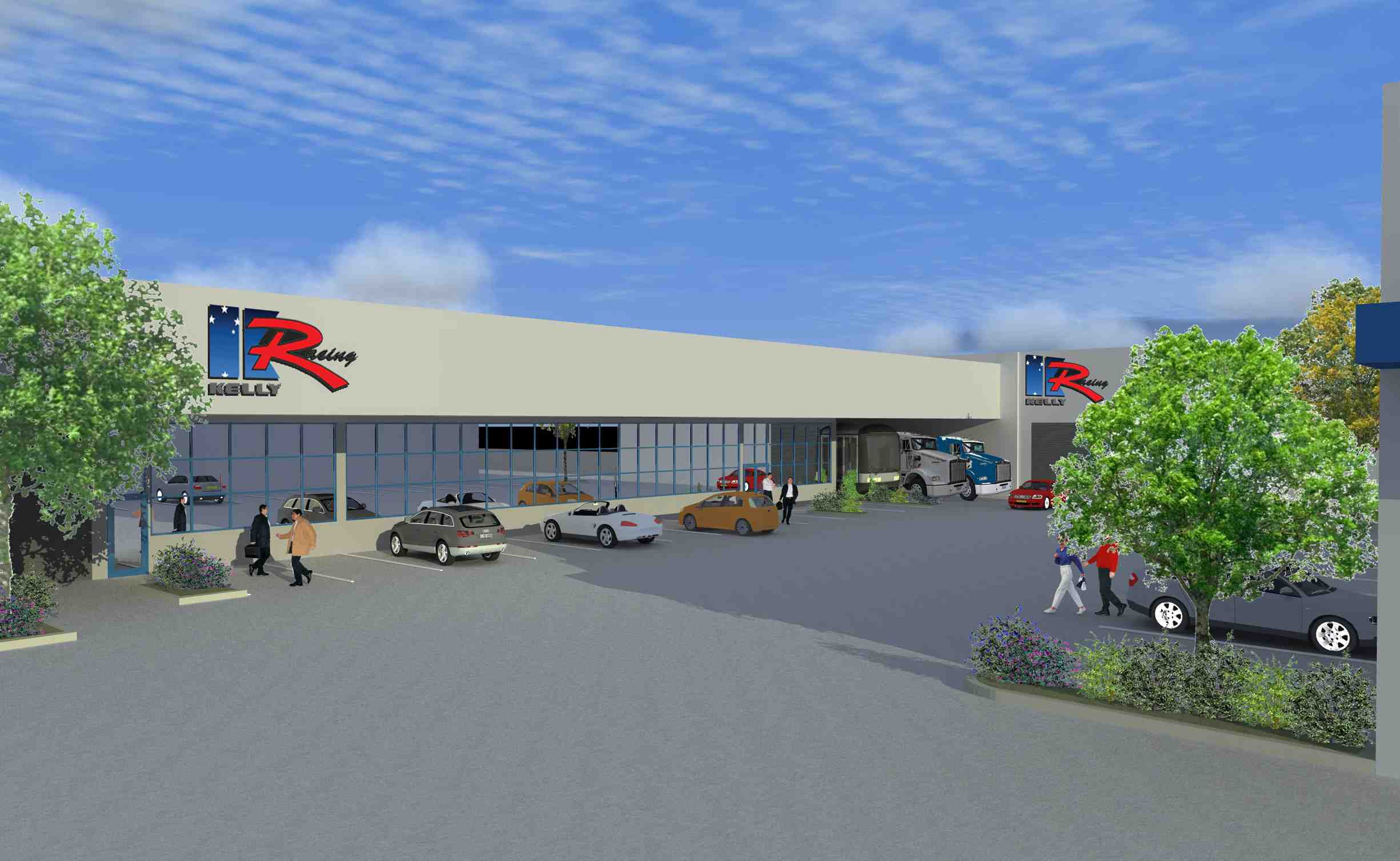 Kelly Racing's major race shop expansion