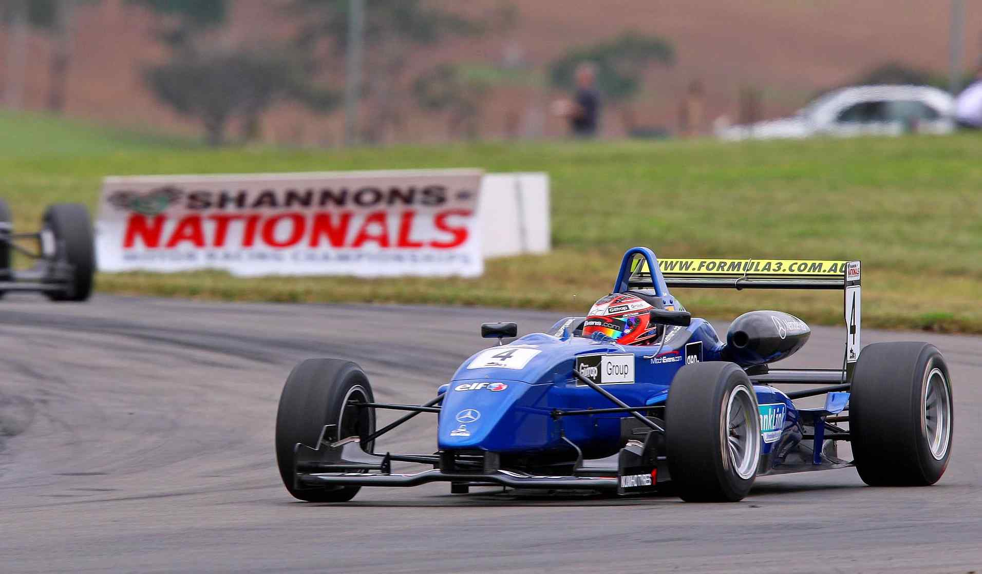Evans too good in opening F3 round