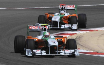 One of the Force India Formula One cars will be driven by Paul di Resta on Friday at Albert Park this weekend