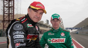 Paul Morris Motorsport team-mates: Russell Ingall and Greg Murphy