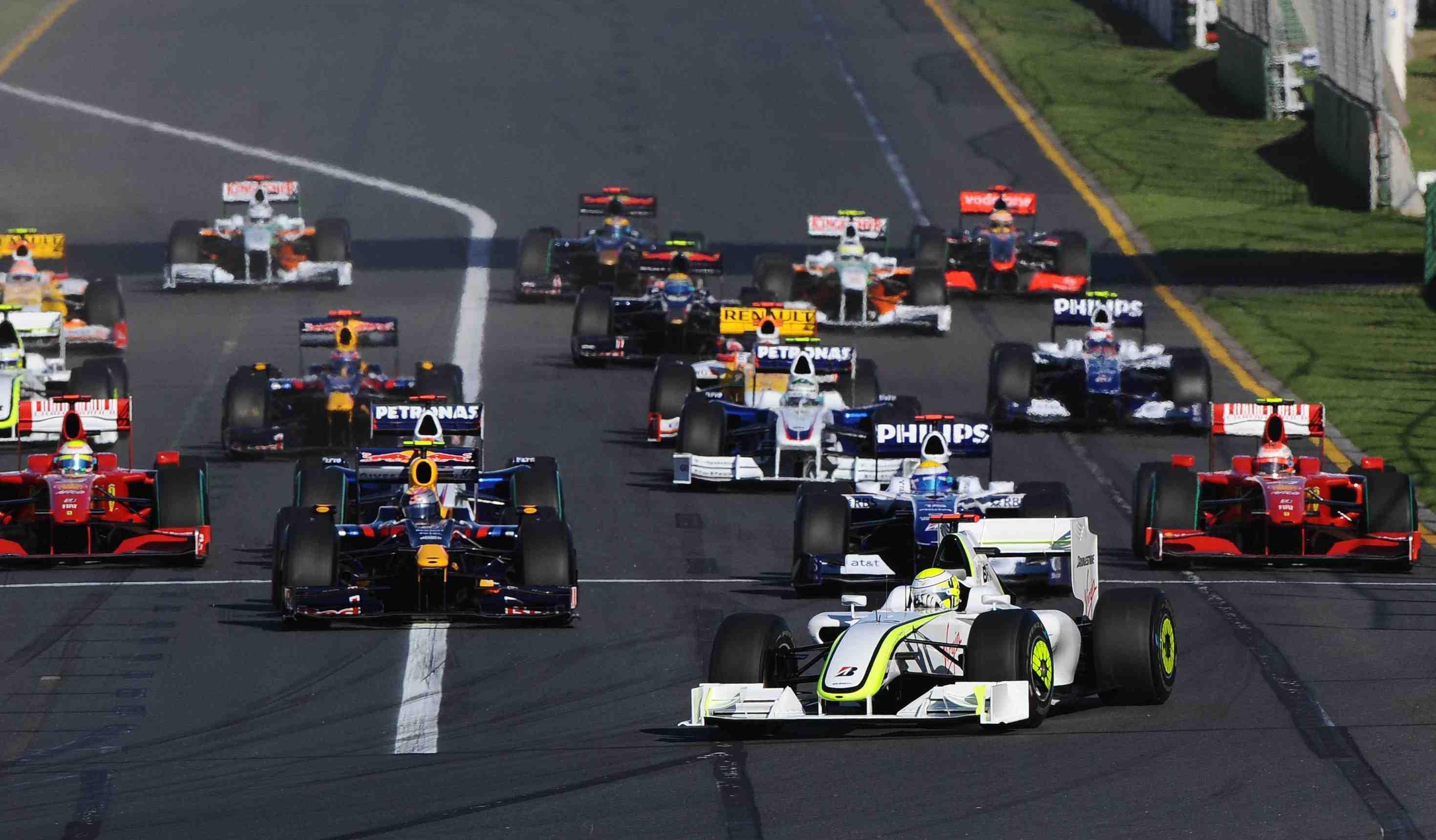 Record field of F1 rookies at Aussie GP