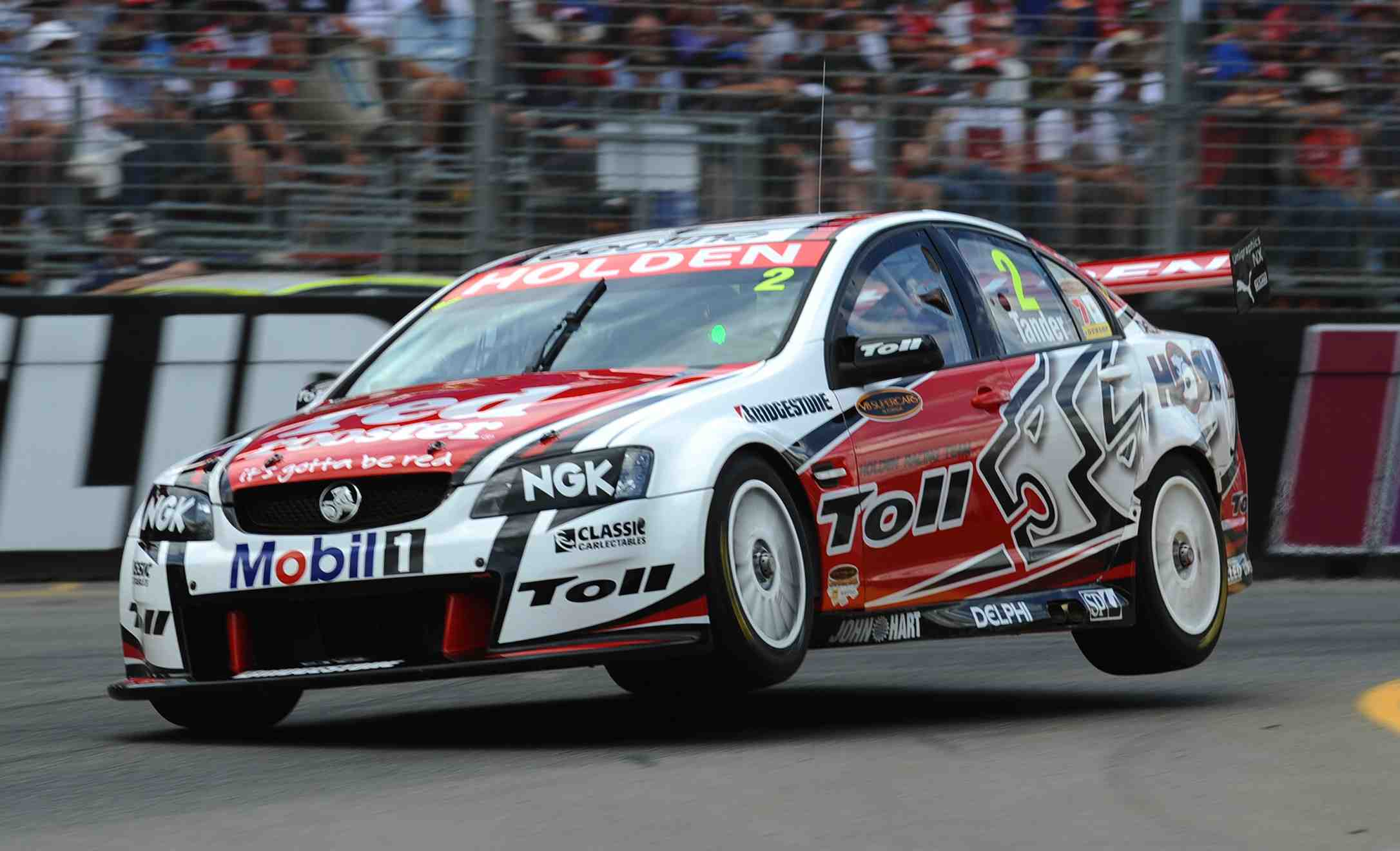 Tander continues great Clipsal run with pole