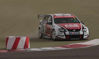 Garth Tander had another difficult round at Bahrain