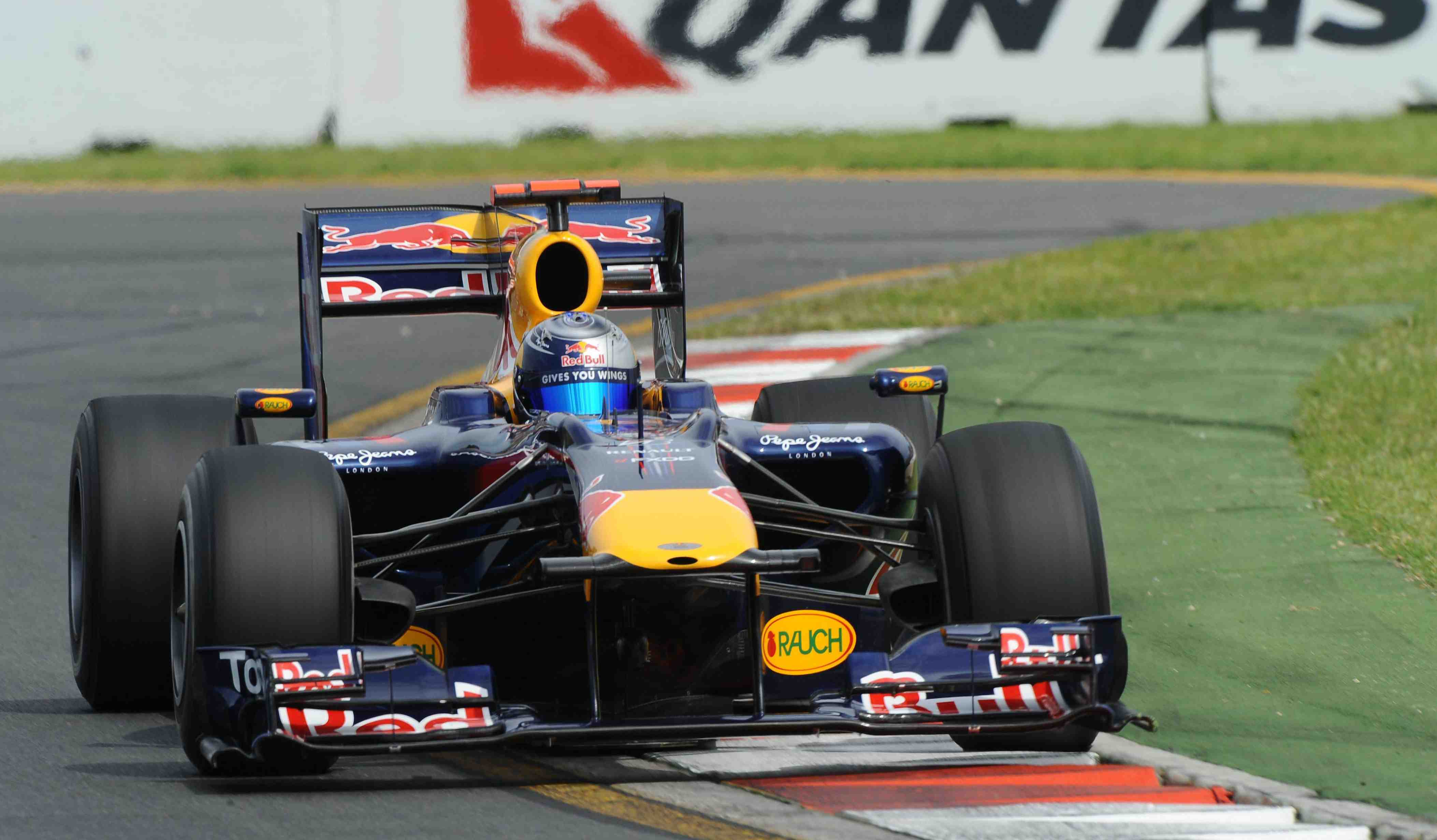 Red Bull Racing locks out AGP front-row