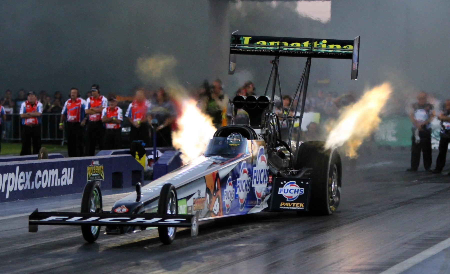 Top Fuel points chase to heat up at Willowbank