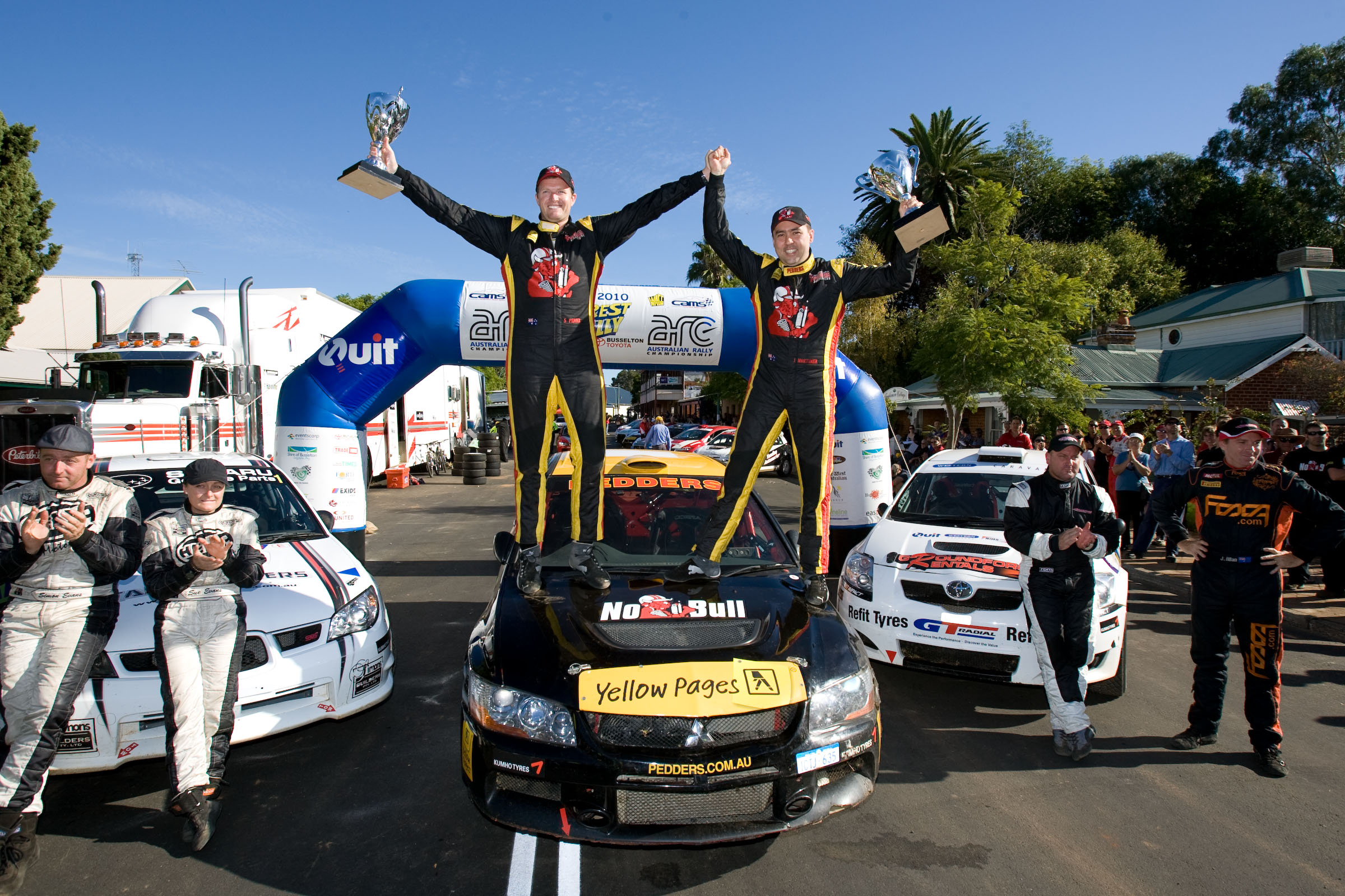 Pedder takes Forest Rally in WA