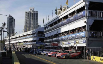 The streets of Surfers Paradise will light up for the Gold Coast 600