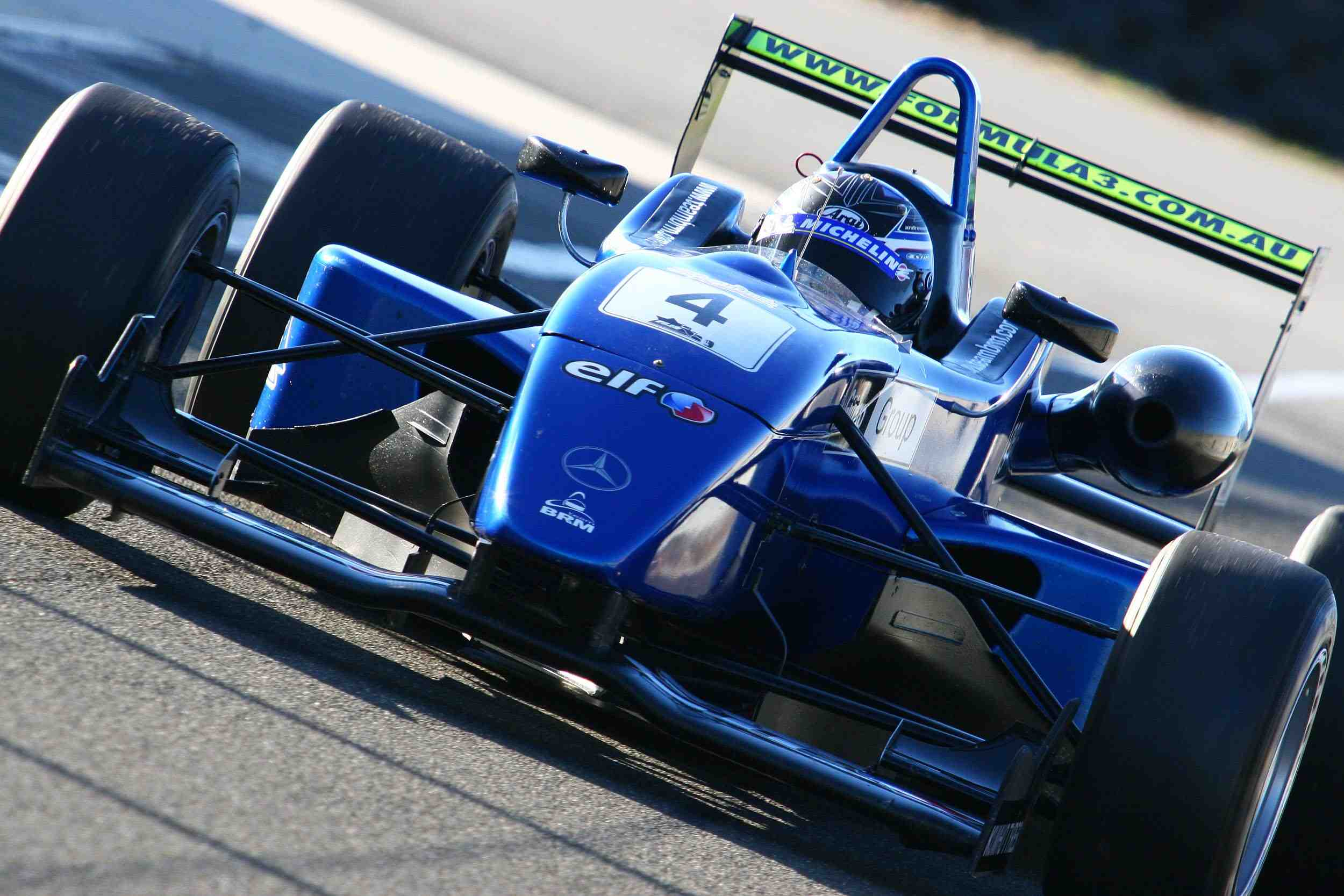Kiwi gets first taste of Formula 3 power