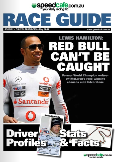 Formula One Race Guide Available Now