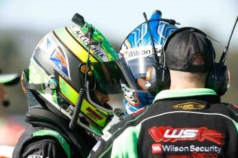 Wilson Security Racing drivers Jack Perkins and Tim Slade