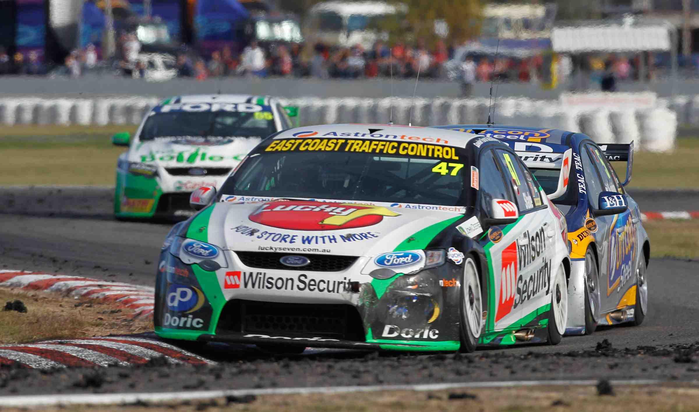 Tim Slade confident of retaining #47 drive