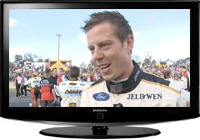 James Courtney talks about his QR domination