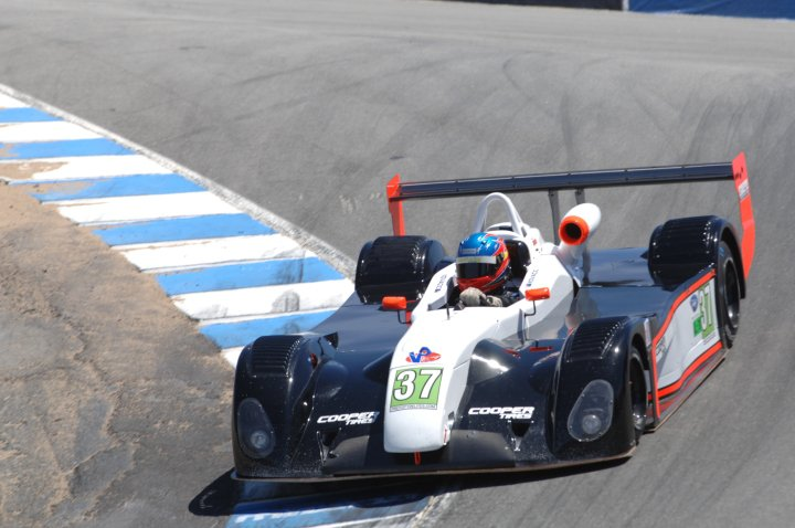 Kovacic wins on debut at Laguna Seca