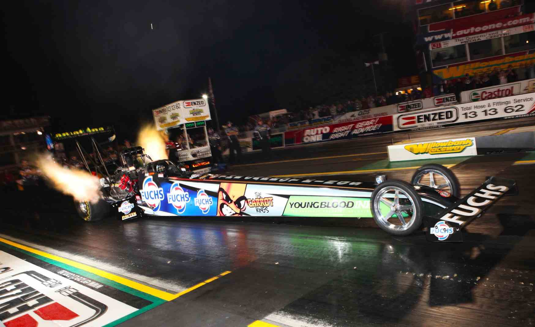Close to 500 entries for Winternationals