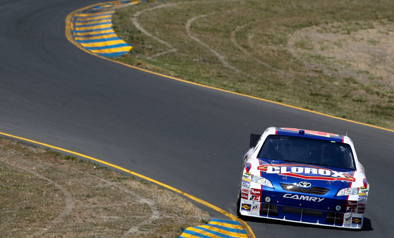 Marcos Ambrose qualifies sixth at Sonoma