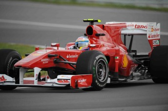 Fernando Alonso finished third at the Canadian Grand Prix