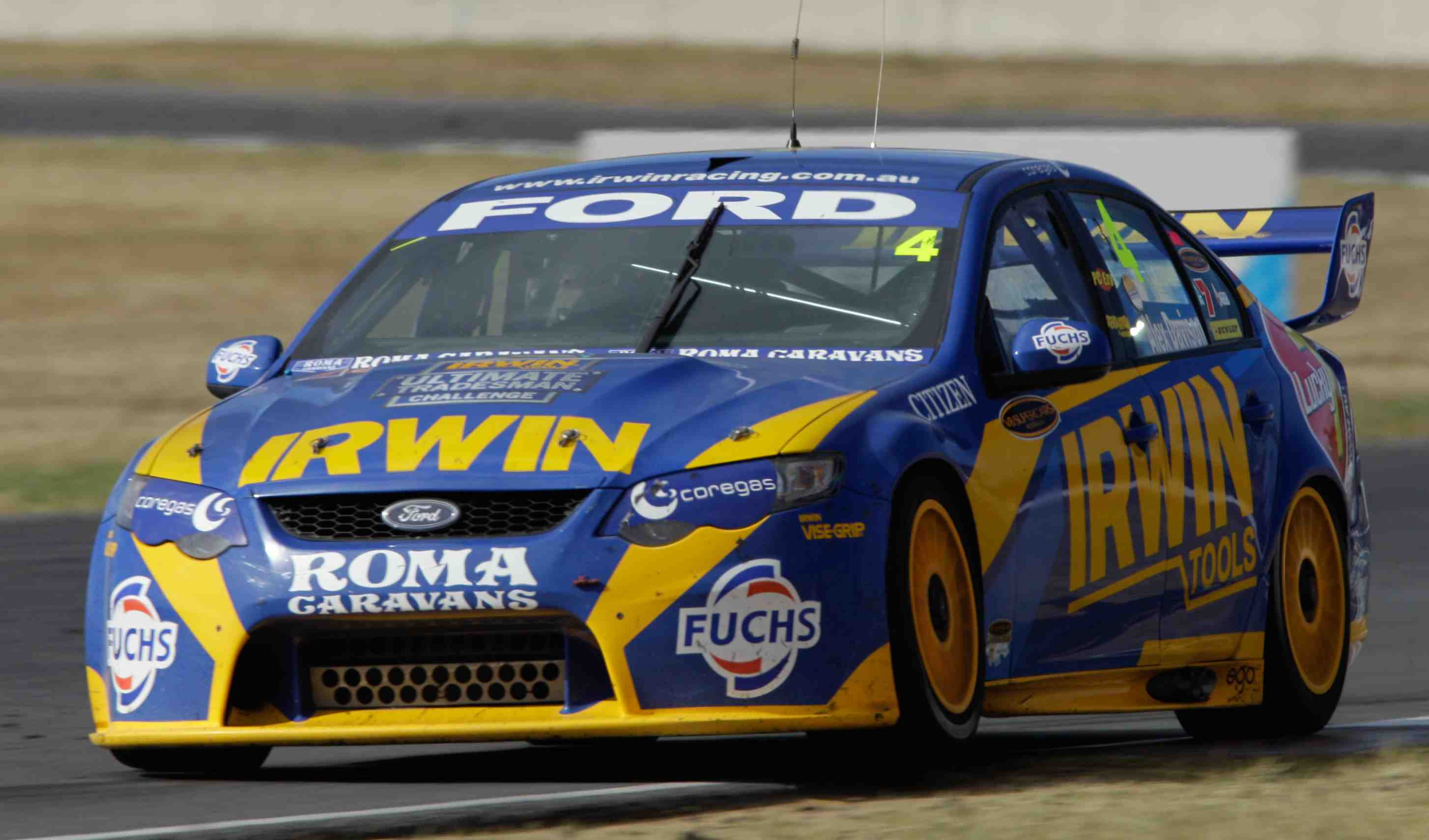 Stone brothers drivers swap cars at qr test speedcafe for Irwin motors used cars