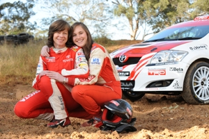 Coral Taylor joins daughter in UK Rally efforts
