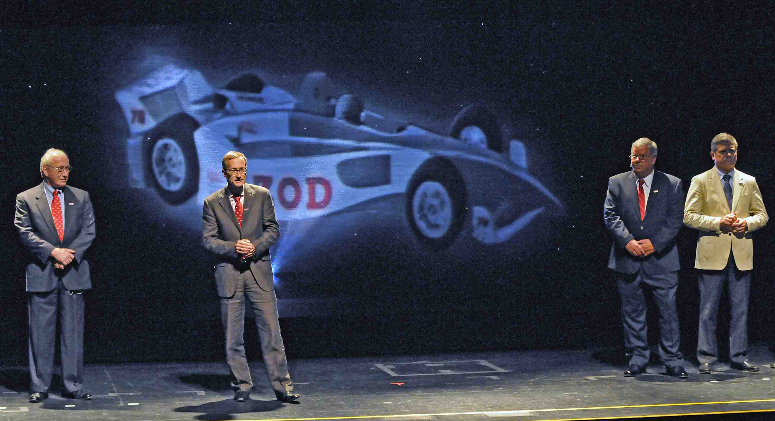 IndyCar chassis rules announced for 2012