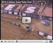 Tanner Foust wins Gold Medal in X Games Super Rally Final