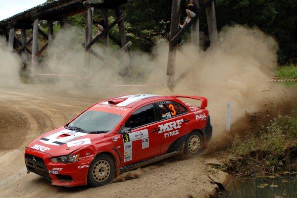 Guarav Gill wins Rally Queensland
