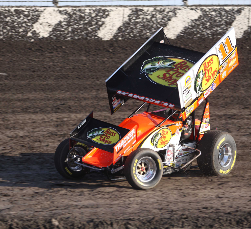 Steve Kinser continues his winning ways