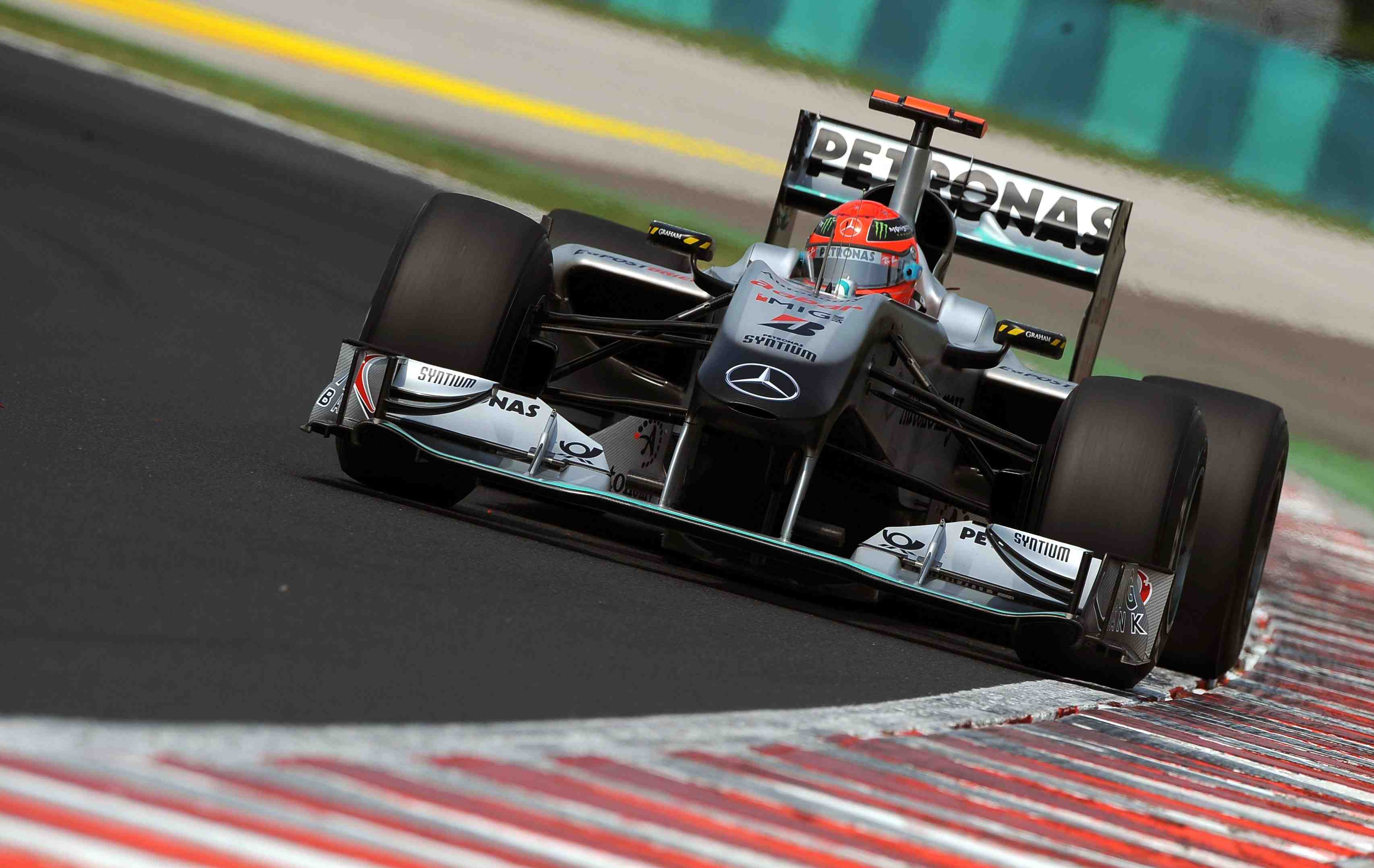 Schumacher penalised for 'crazy' move