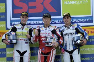 Rae and Haga take Superbike wins in Germany
