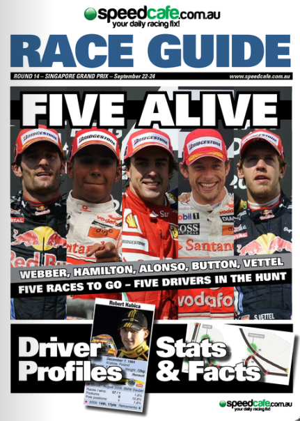 Singapore GP F1 Race Guide Available Now